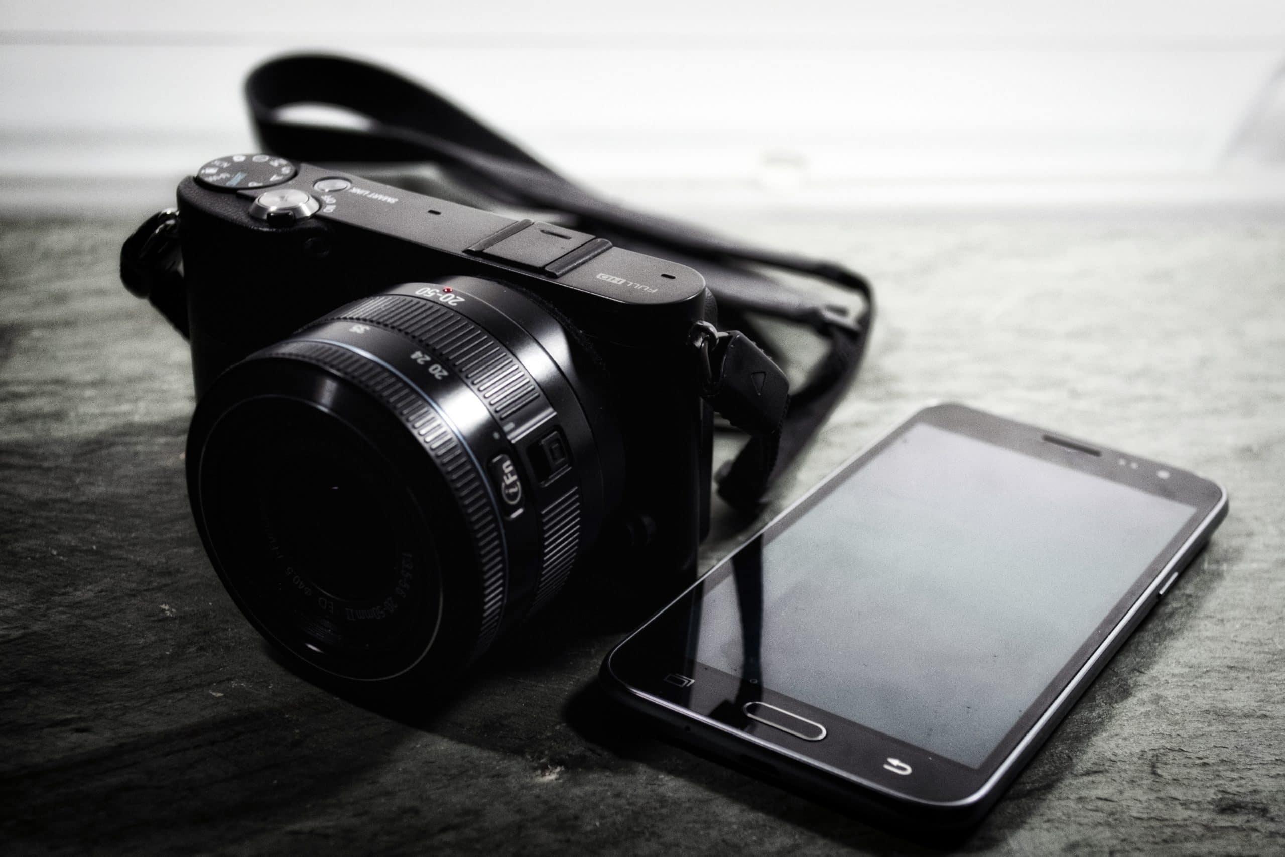 smartphone avec camera