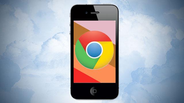 Chrome pour iOS
