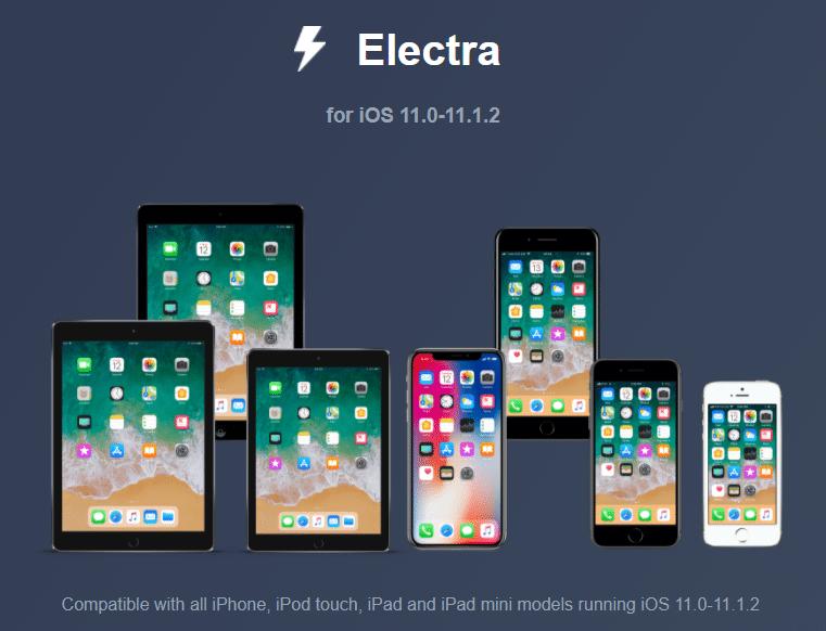 Electra-iOS-11.3.1-jailbreak