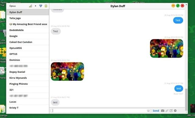 Remote Messages Client