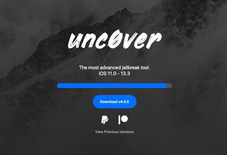 unc0ver iOS 13.3