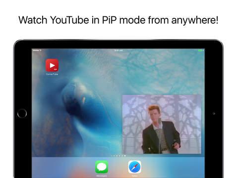 CornerTube app iPad