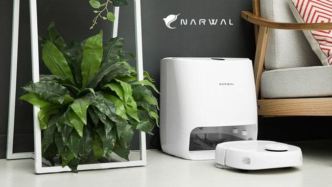 Narwal T10 - Aspirateur et vadrouille robotisés contrôlés par une application.