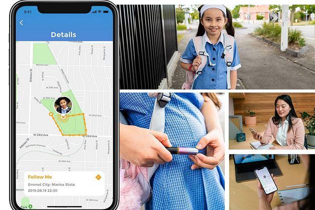 Alphahom Care Go App Smart Alarme de sécurité personnelle -