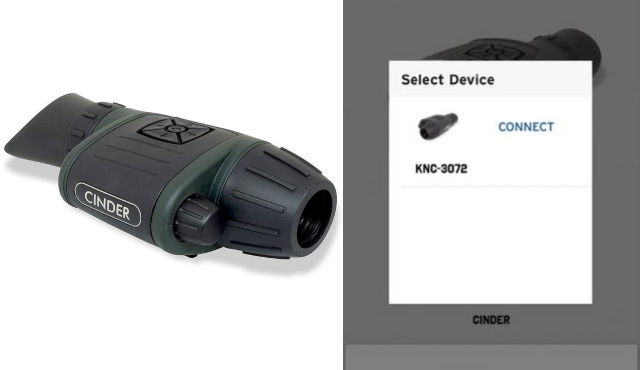 Steiner Cinder 3X Thermal Night Vision Hunting Sight avec iOS/Android App -