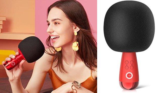CALF G2 Bluetooth Karaoke Microphone -