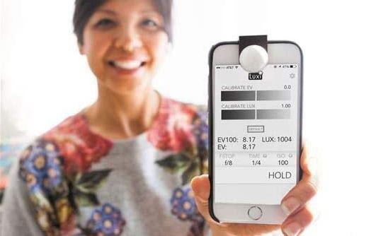 Mesureur de lumière pour appareils iOS -