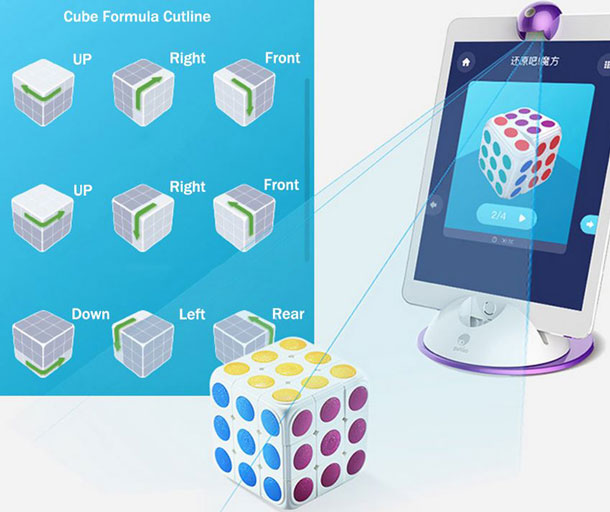 Spin Magic App Smart Cube -