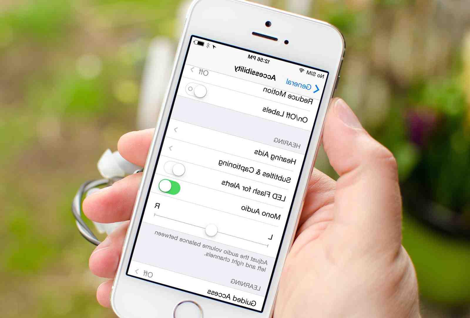 Appareil photo de l'Iphone 5