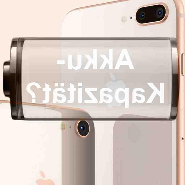 Batterie de l'Iphone 8 plus mah