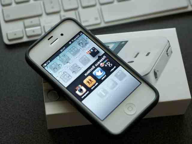 Bouton d'accueil de l'Iphone 8 plus
