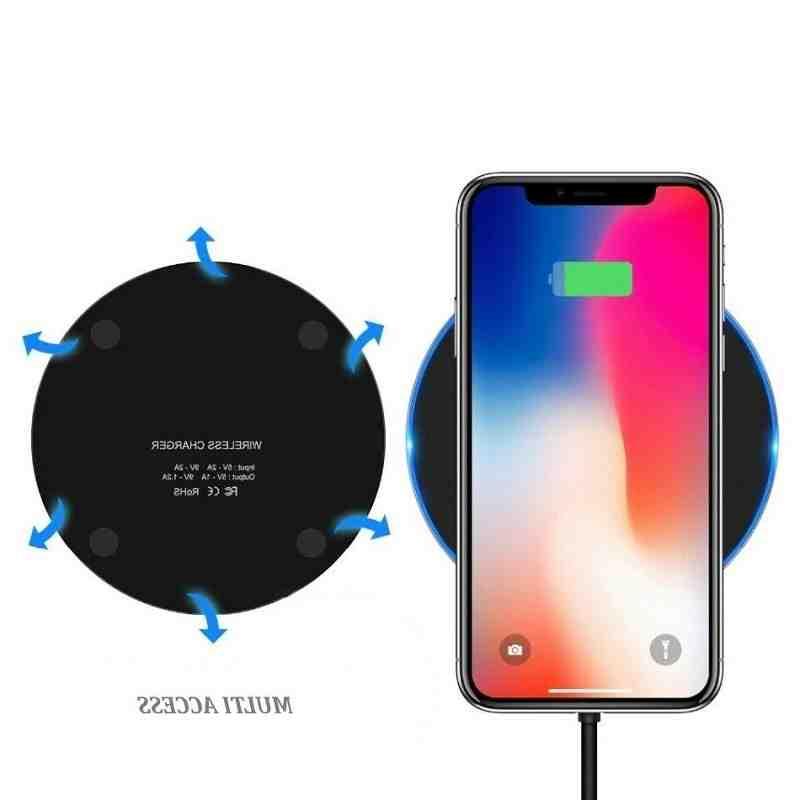 Chargement sans fil de l'Iphone xr