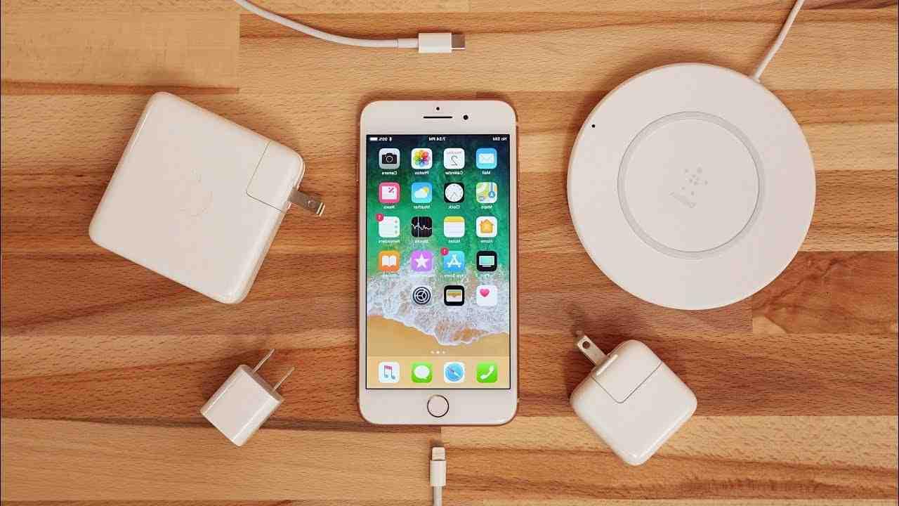 Comment charger l'iphone 8 plus sans fil