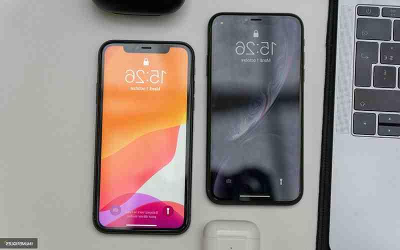 Comparaison Iphone xr xs