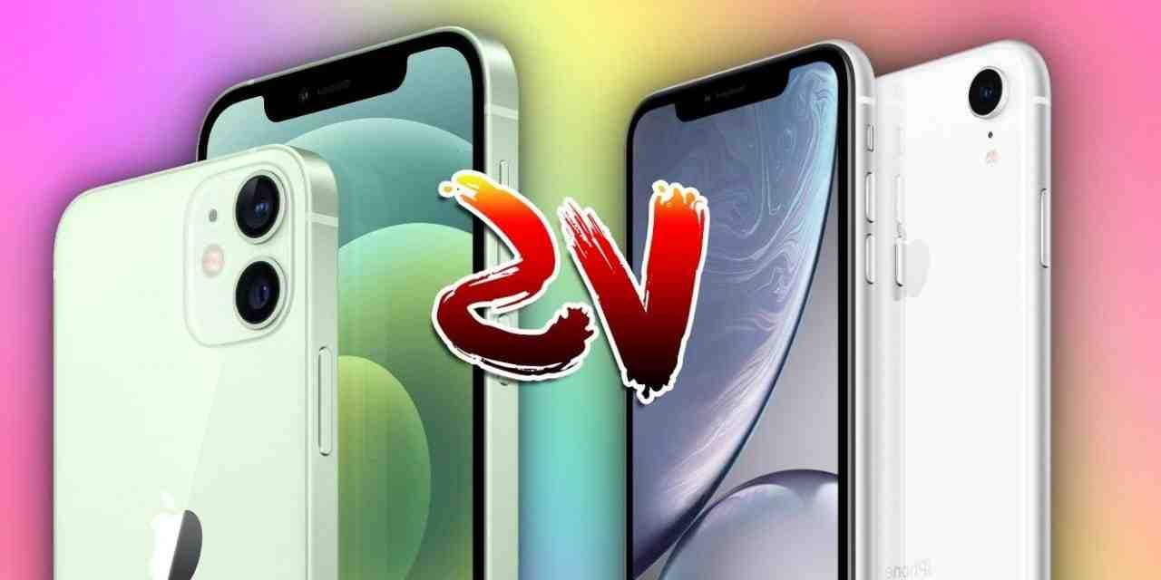 Comparaison entre l'Iphone xr et le 12