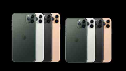 De l'Iphone 8 plus à l'Iphone 11