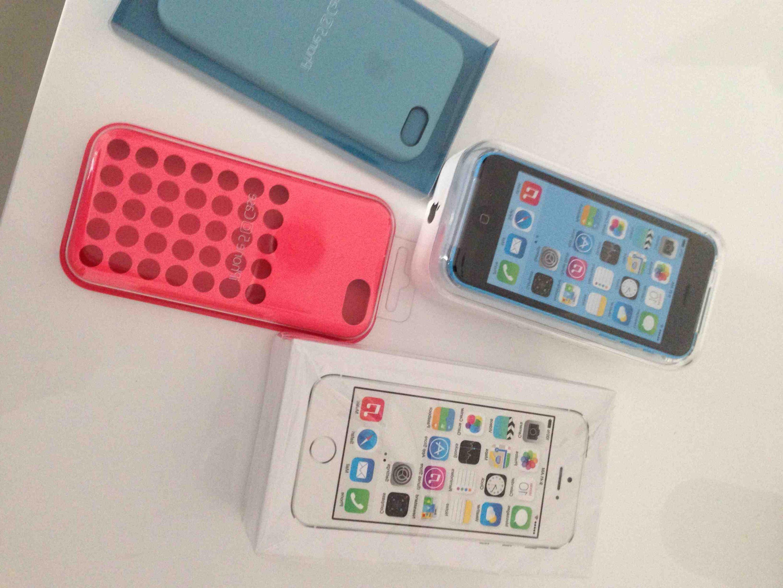 Différence de look entre l'Iphone 5 et 5s