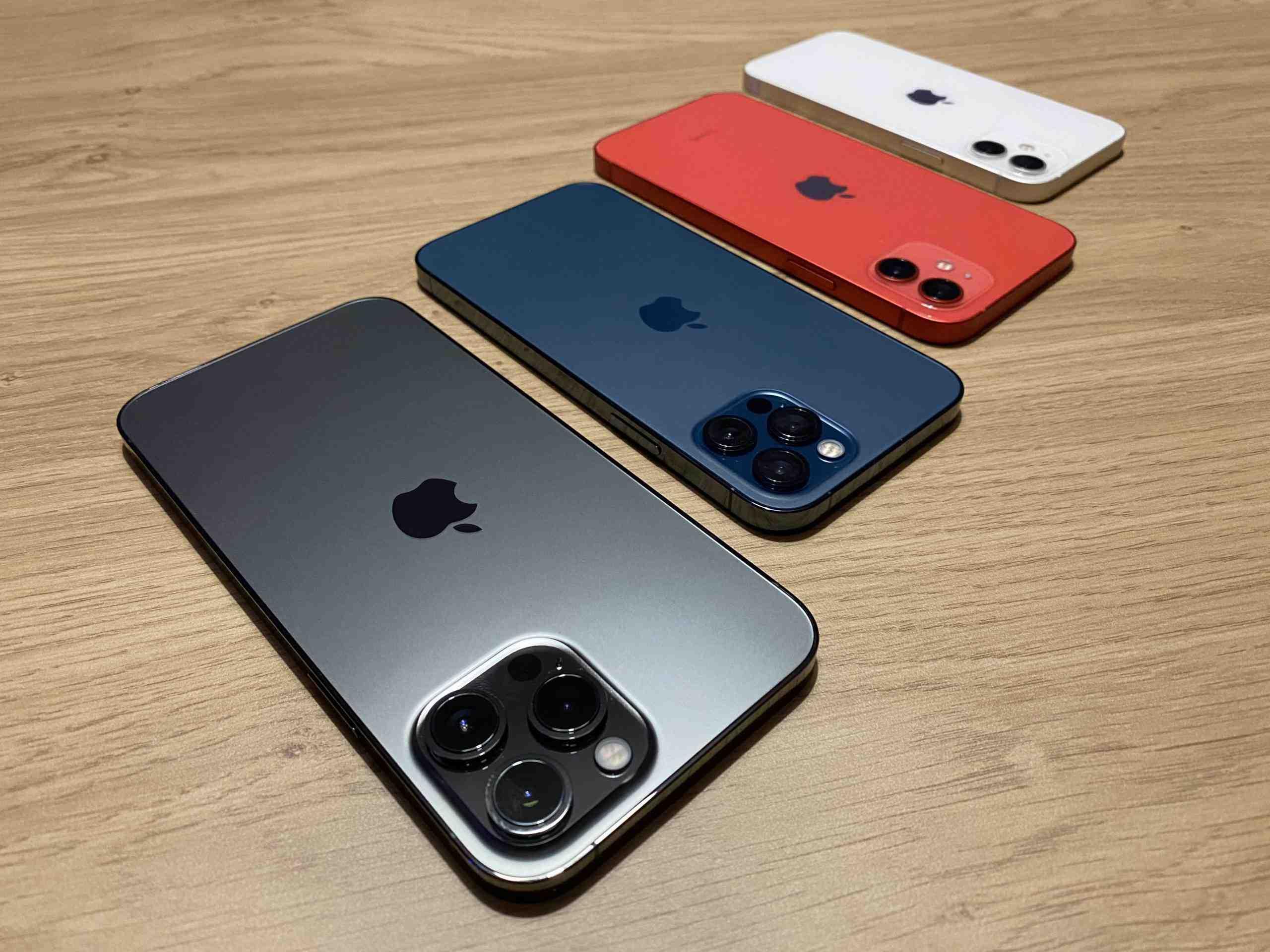 Différence entre l'Iphone 12 pro max et pro