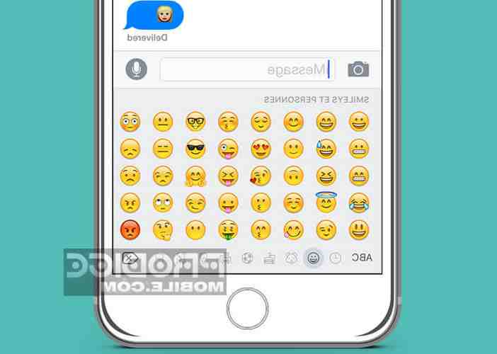 Emojis de l'Iphone 5