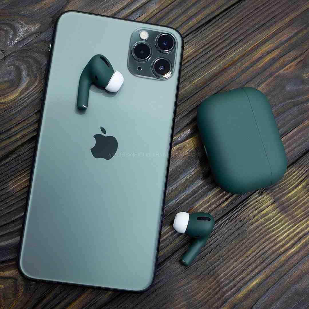 Iphone 11 pro max avec airpods