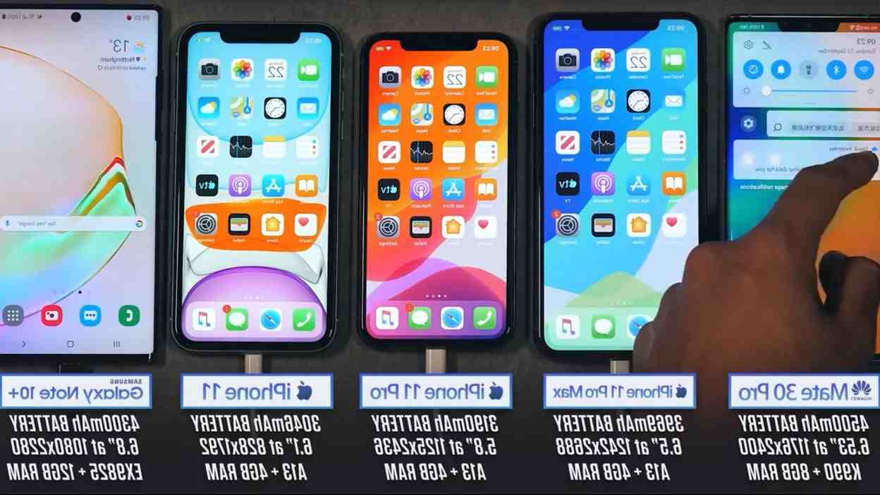 Iphone 11 pro max batterie mah
