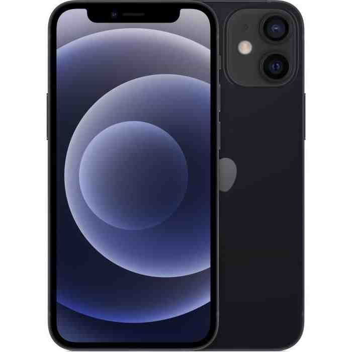 Iphone 12 mini à côté de l'iphone 8