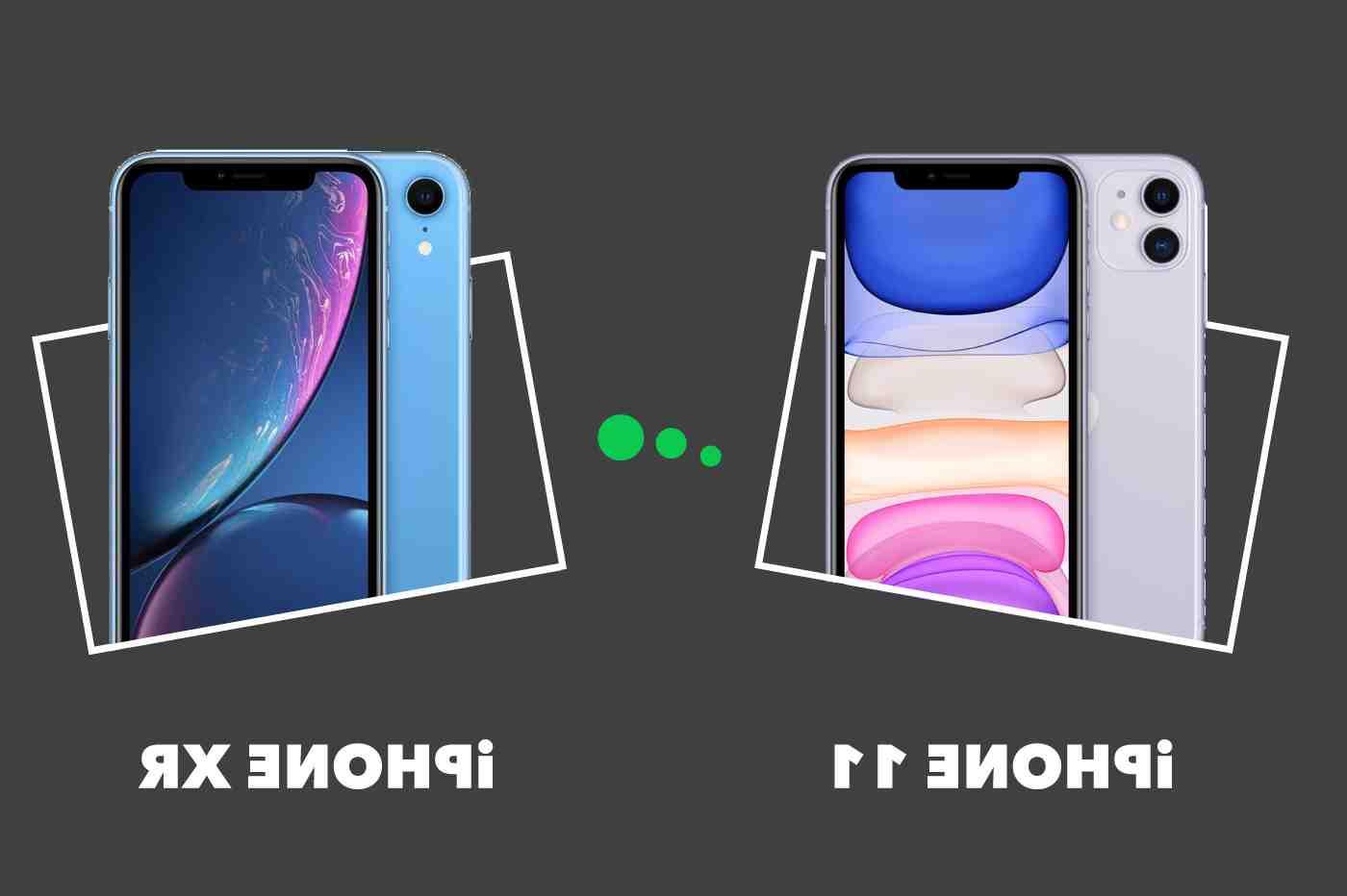 Iphone 12 mini contre iphone xr