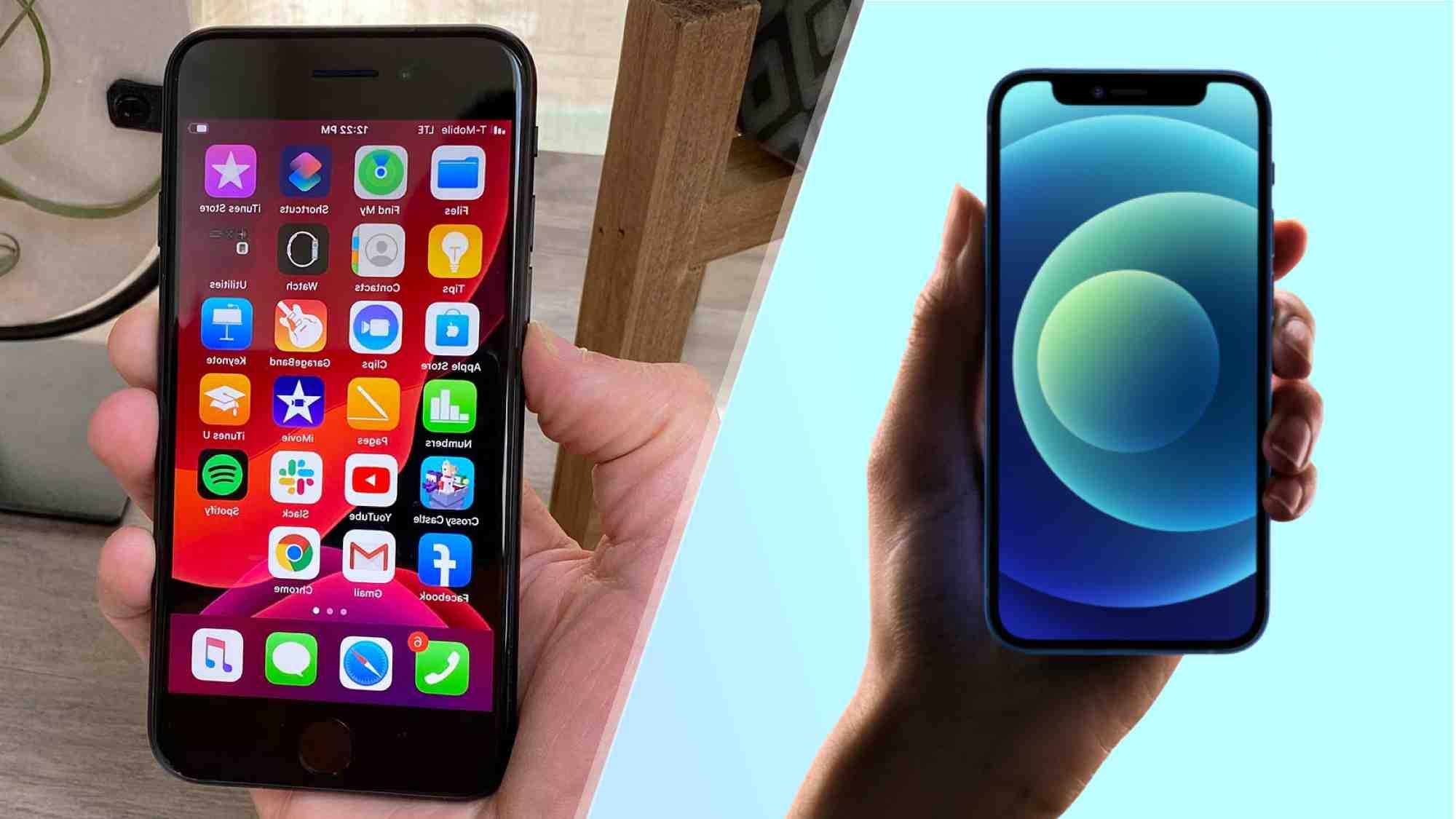 Iphone 12 mini ou se 2020