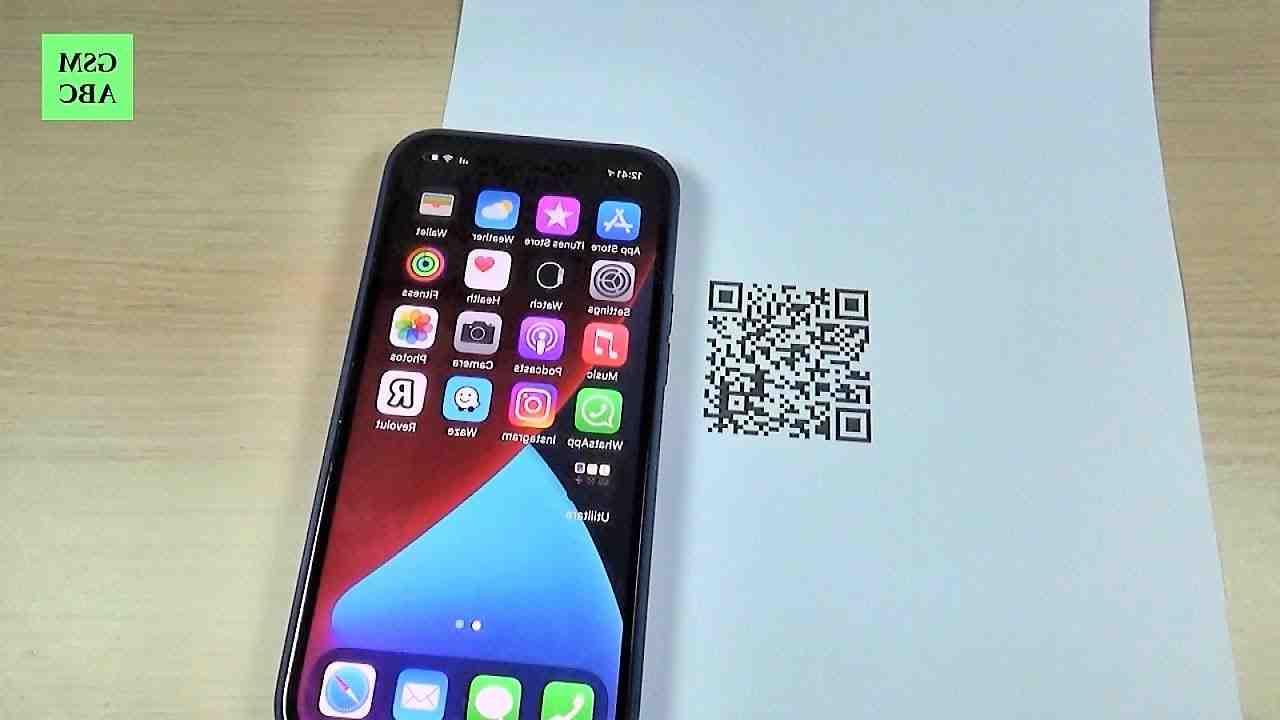 Iphone 12 mini scanner qr