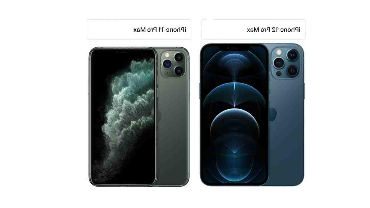 Iphone 12 pro max et 11 pro max