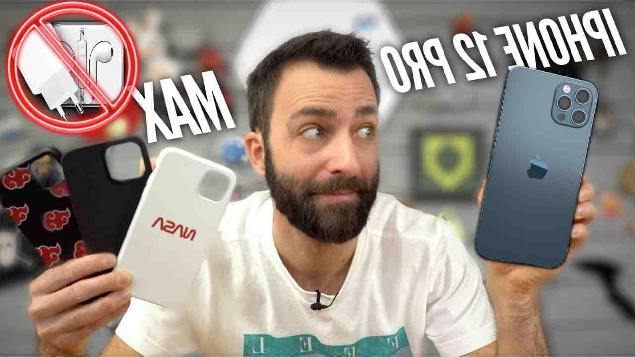 Iphone 12 pro max sans chargeur