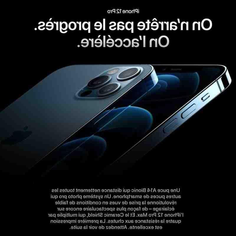 Iphone 12 pro max sans sim
