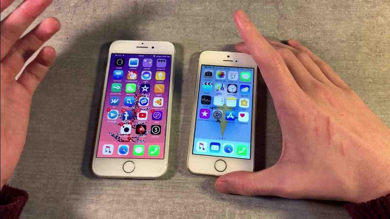 Iphone 5 contre 8