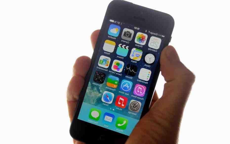 Iphone 5 dernière mise à jour