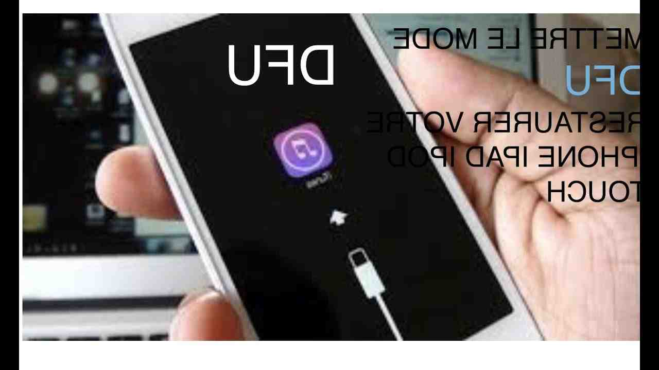 Iphone 5 dfu mode