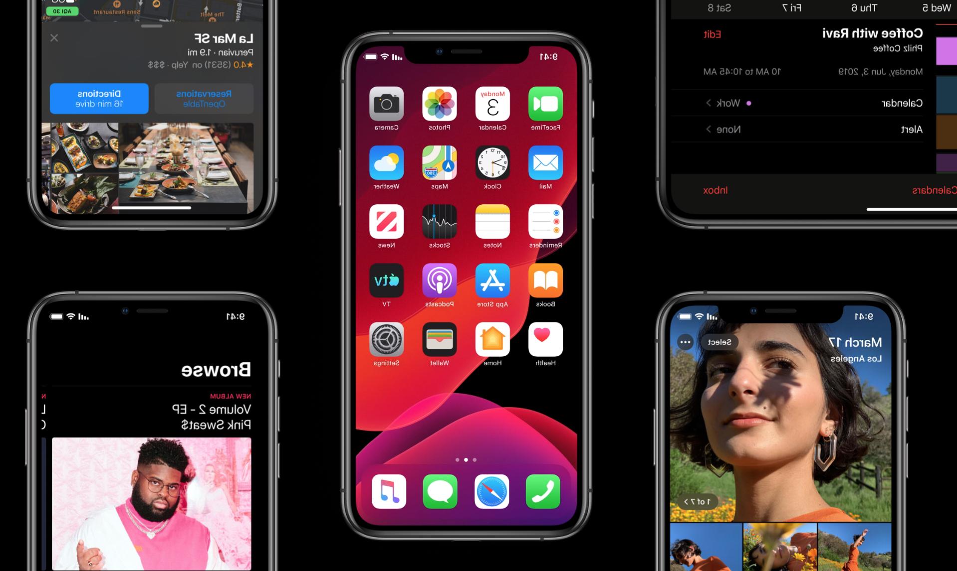 Iphone 5 et ios 13