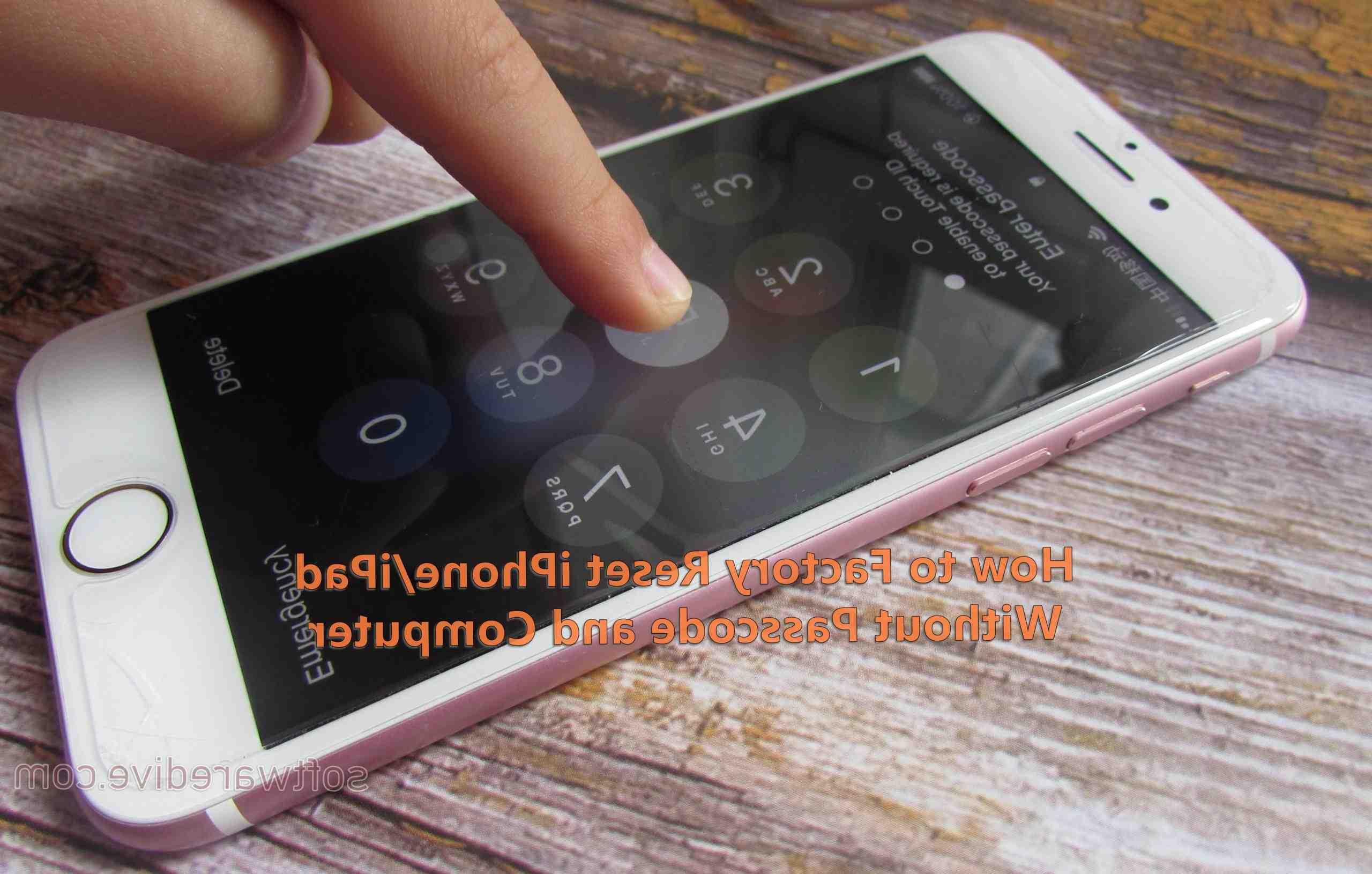 Iphone 5 forgot passcode