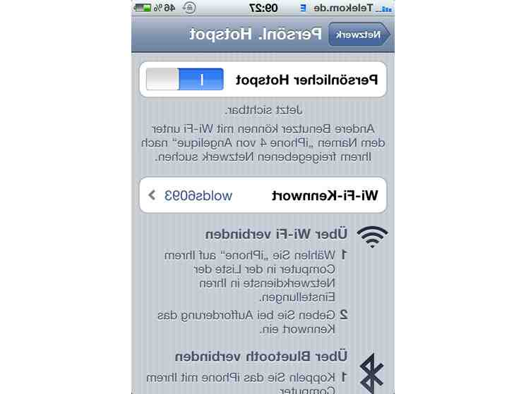 Iphone 5 hotspot