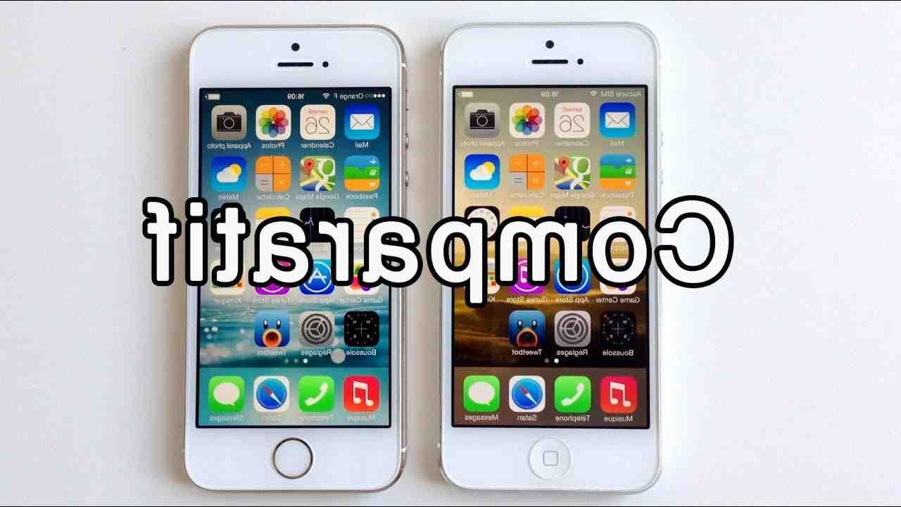 Iphone 5 ou 5s : comment le reconnaître ?