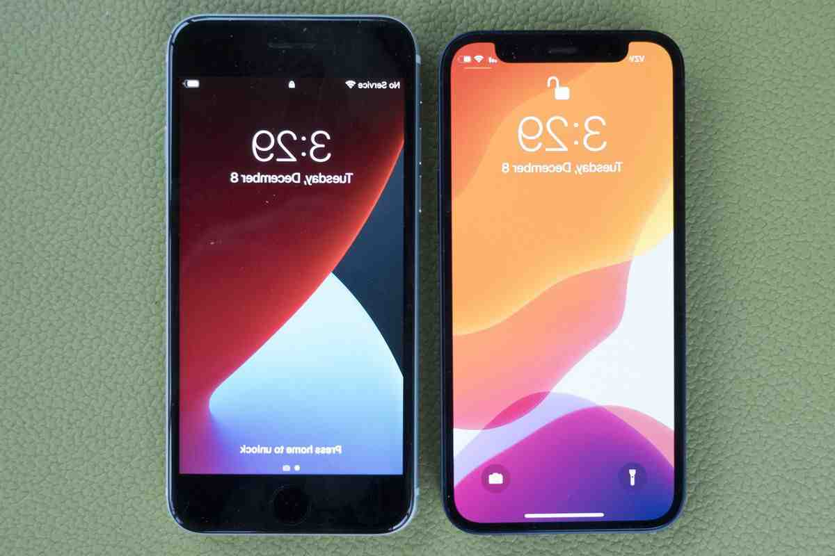 Iphone 5 vs iphone 12 mini