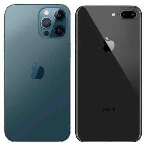 Iphone 8 plus à iphone 12 pro max