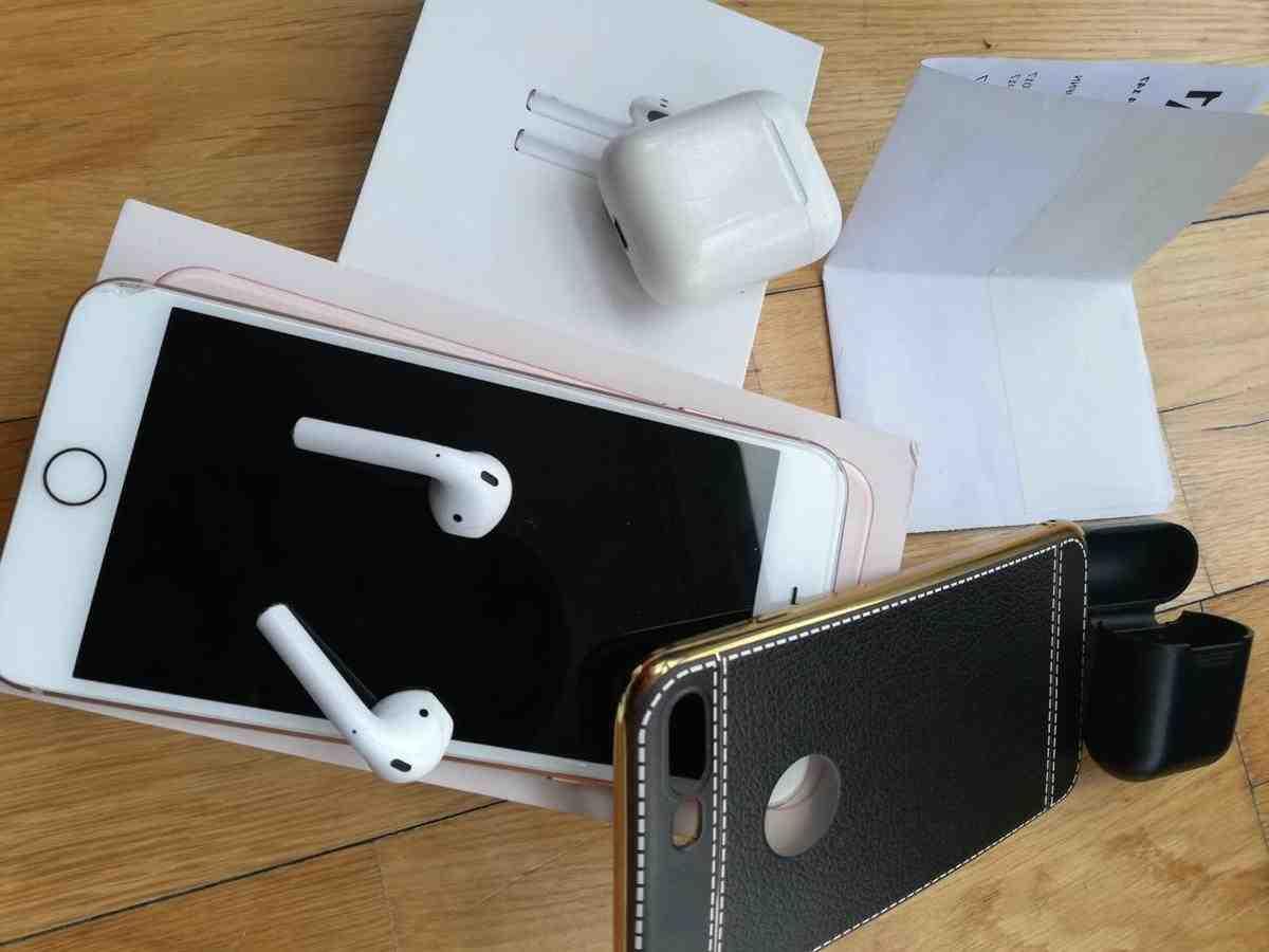 Iphone 8 plus avec airpods