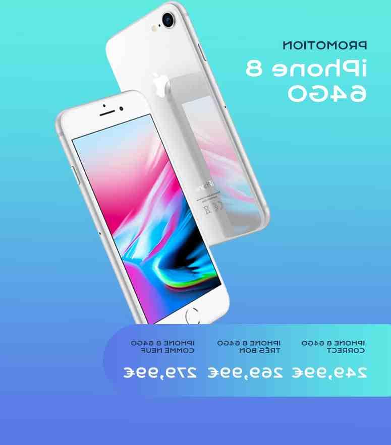 Iphone 8 plus comme neuf 99