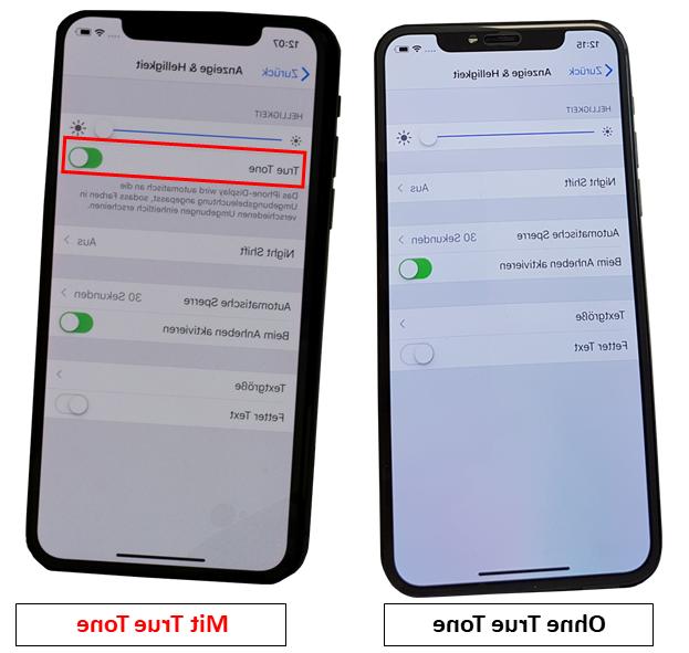 Iphone 8 plus sans true tone