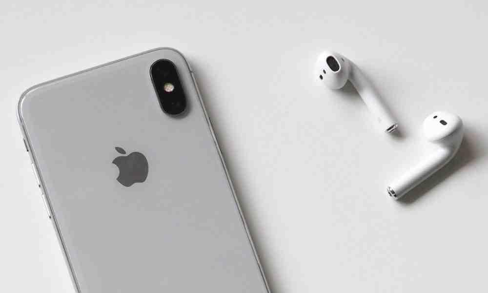 Iphone xr avec airpods