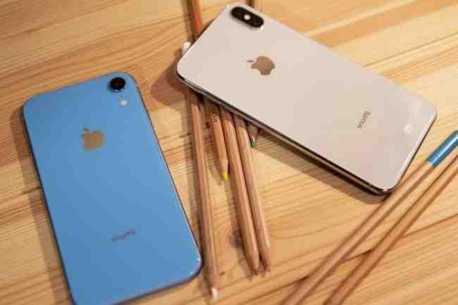 Iphone xr avec ee