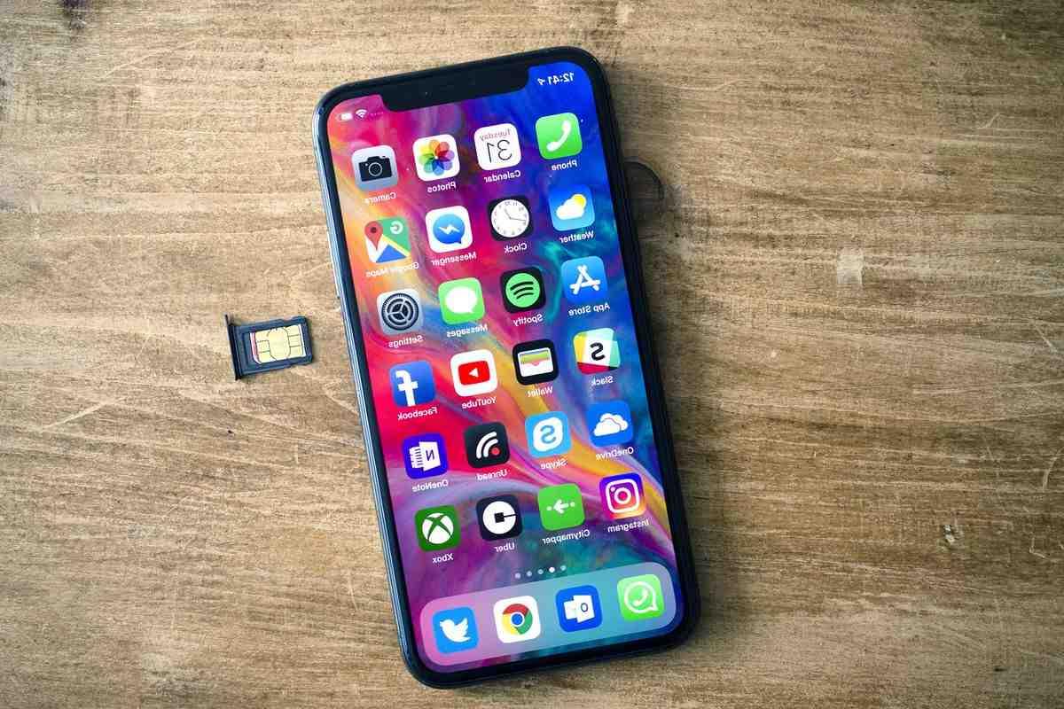 Iphone xr esim
