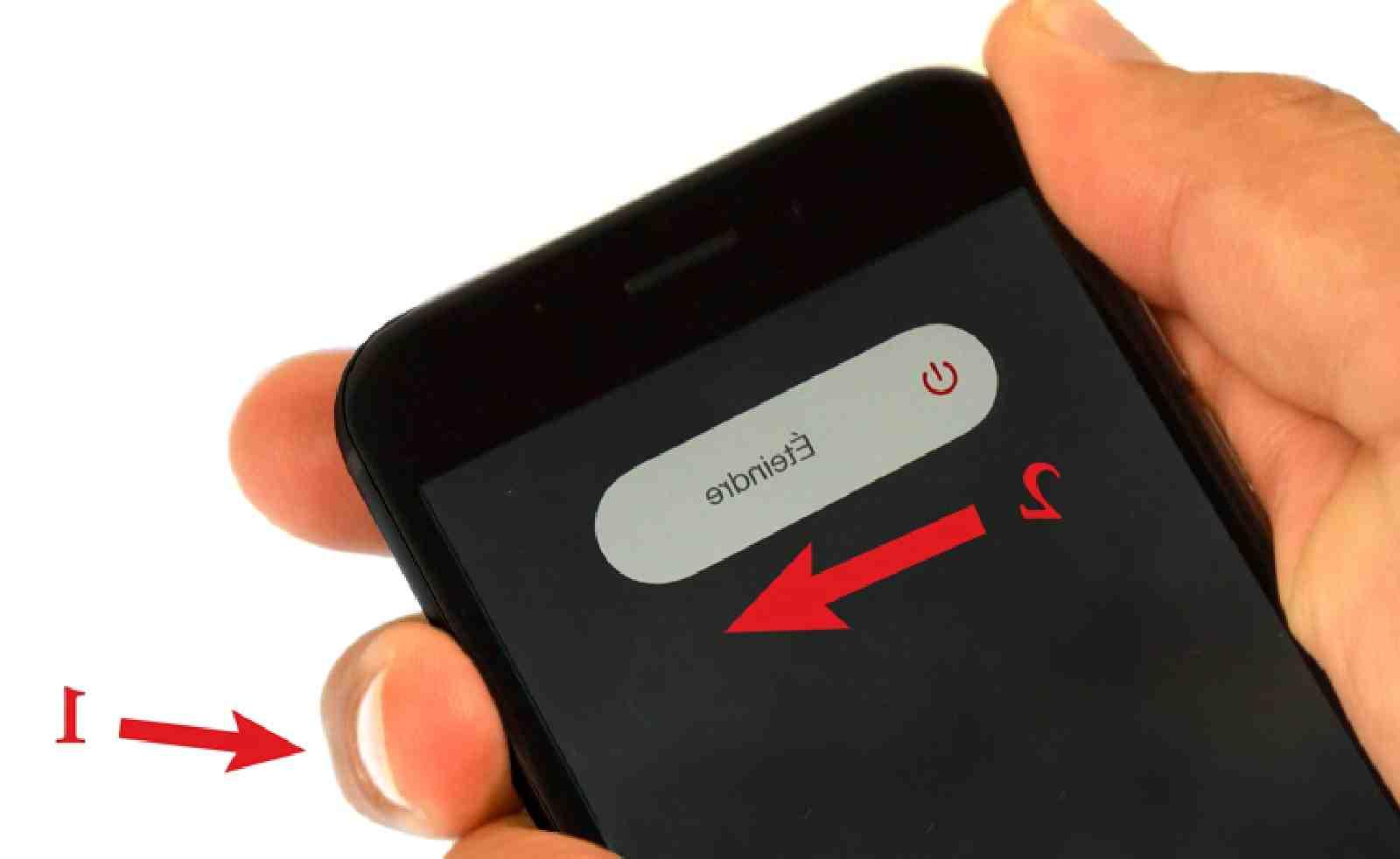 L'Iphone 12 pro max ne peut pas s'éteindre