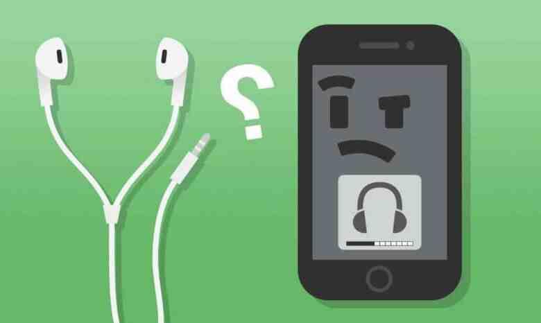 L'Iphone 5 agit comme si les écouteurs étaient branchés