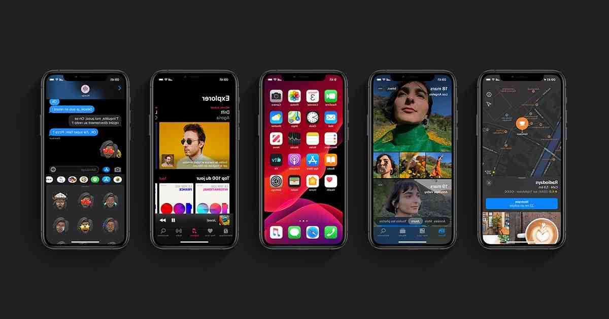 L'Iphone 5 ne peut pas télécharger d'applications